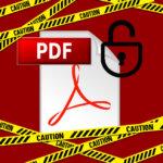 PDF編集は簡単。重要文書はパスワード保護して改ざんリスクに注意!